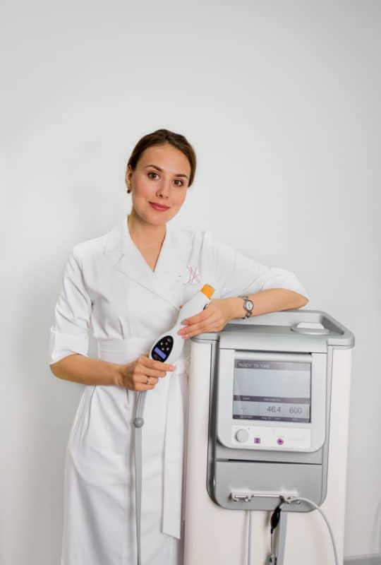 Монополярный термолифтинг на аппарате Thermage